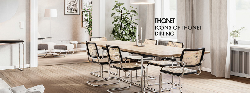 Icons of THONET Dining
