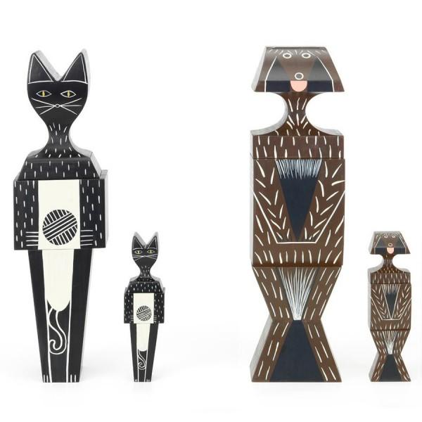 Vitra Wooden Dolls Cat & Dog