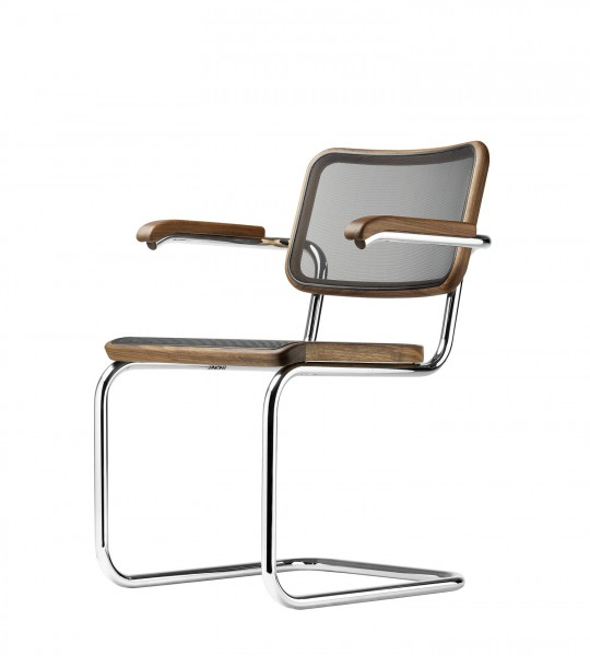 "Cantilever chair Thonet S 64 N - ""PURE MATERIALS"""
