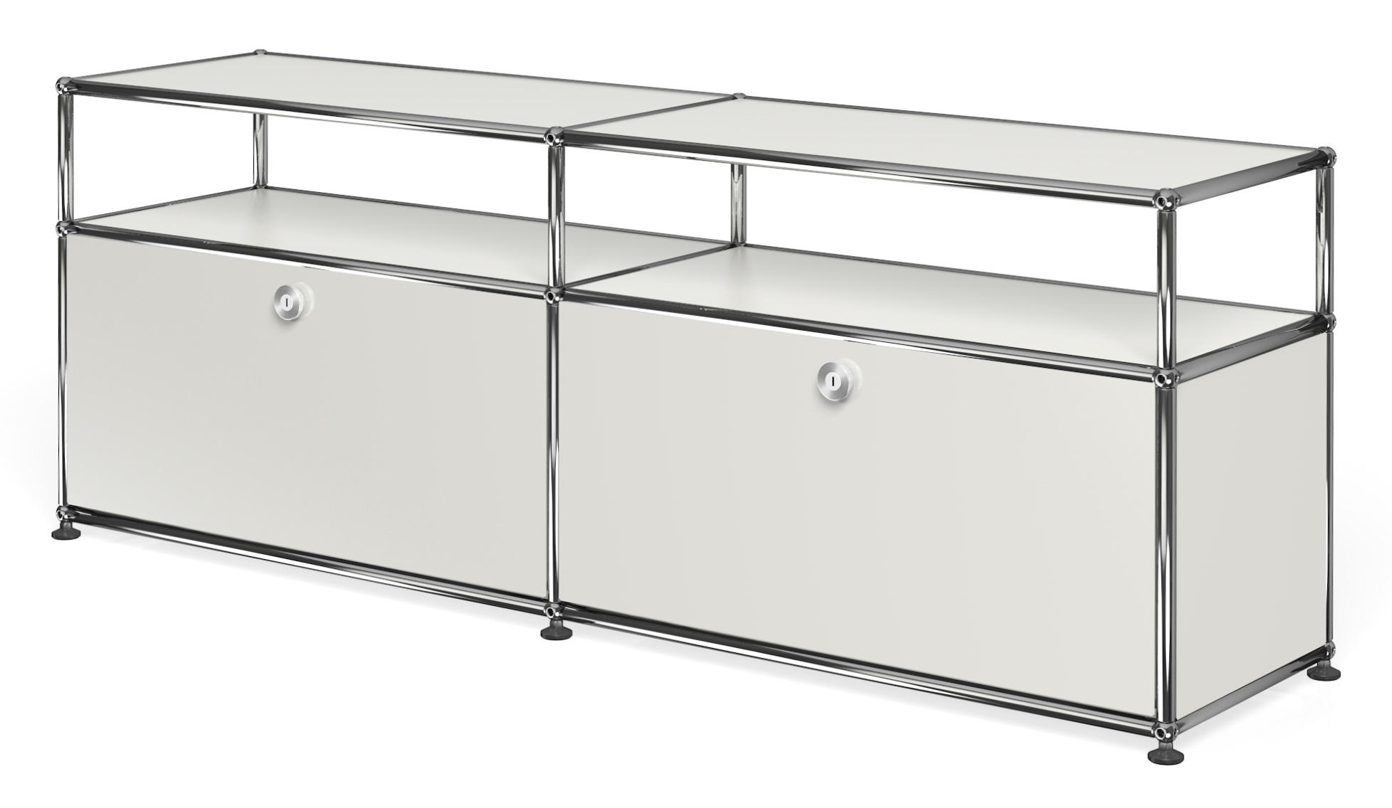 Usm haller sideboard with 2 doors open top for Usm haller sideboard weiay