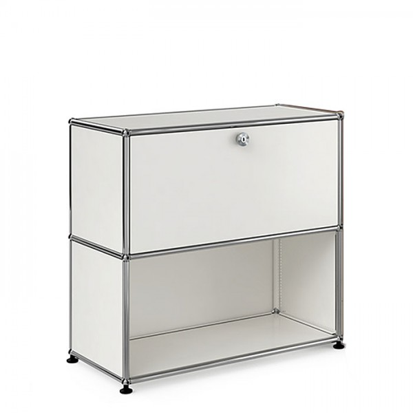 USM Haller Sideboard 1x2 layers, flaps, drawers, drawers freely selectable