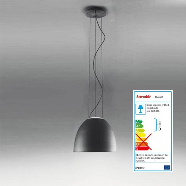 The Artemide Nur Mini pendant light