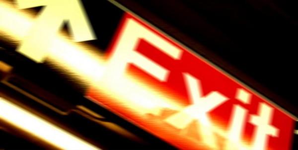 """Fine Art Print, motif """"Exit"""""""