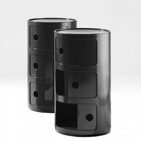Componibili round, 3 compartments