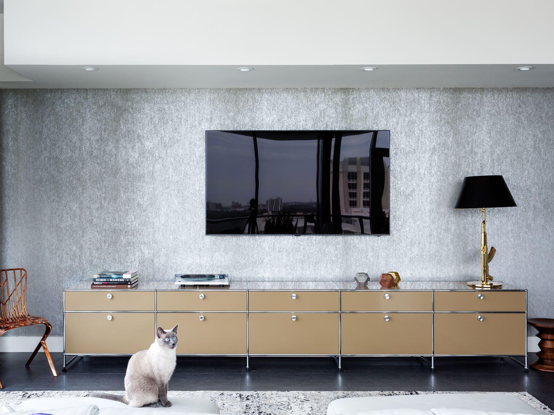 TV furniture and hi-fi furniture