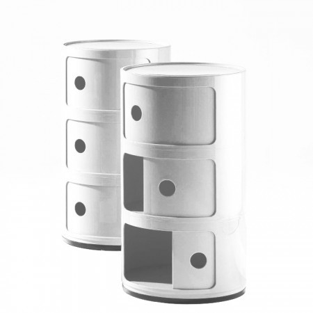 Componibili round, 3 compartments