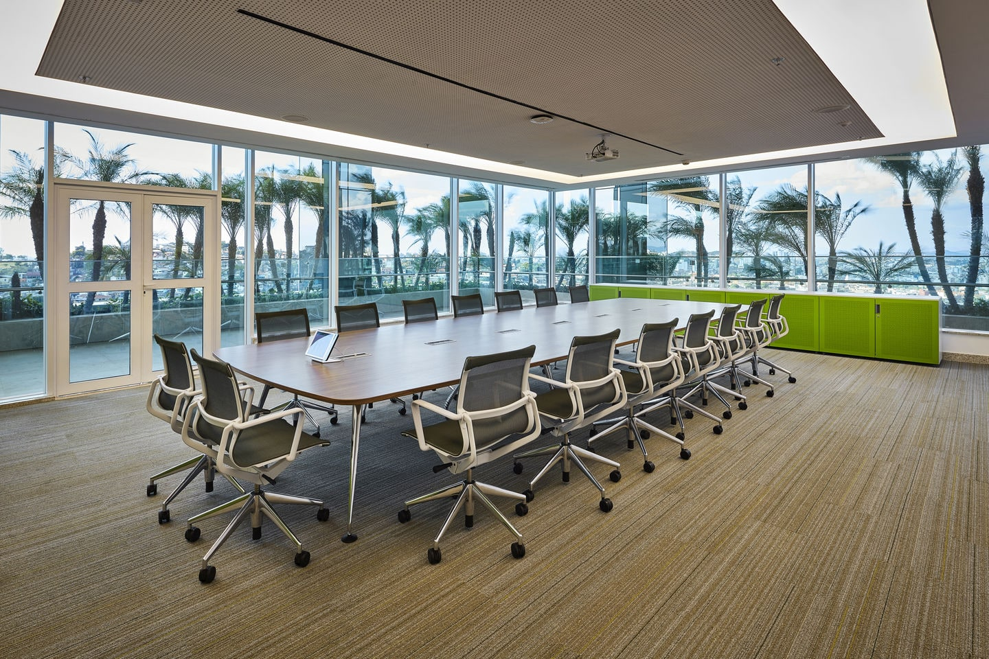 Furniture for the conference room and the meeting room