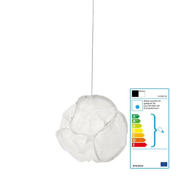 CLOUD pendant light by Frank Gehry, 2005