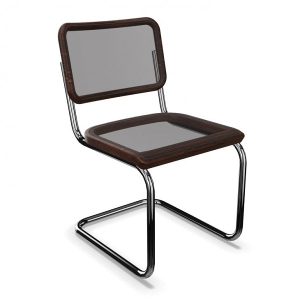 """Cantilever chair Thonet S 32 N - """"PURE MATERIALS"""""""