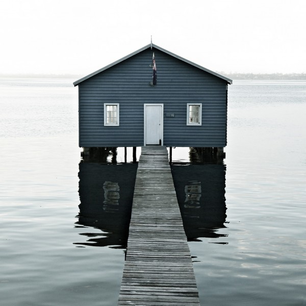 "Fine Art Print, motif ""Lake House"""
