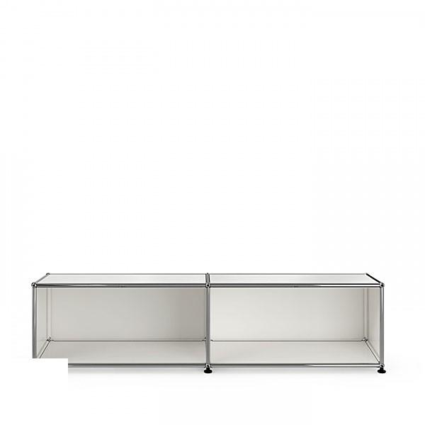 USM Lowboard TV-HIFI-Stand open, 2x1 modules