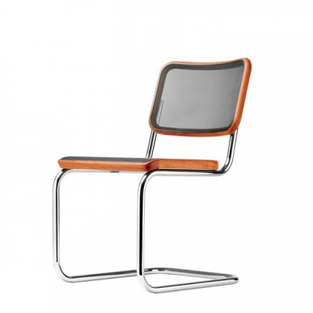 "Cantilever chair Thonet S 32 N - ""PURE MATERIALS"""