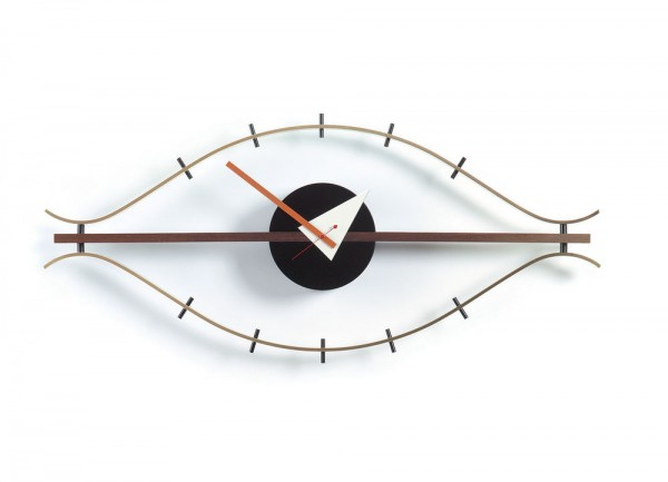 Vitra Eye Clock Brass