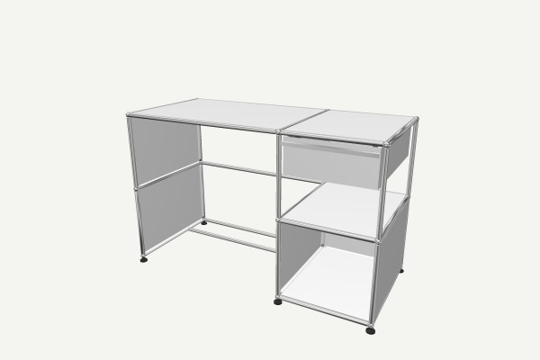 USM Haller desk with drawer