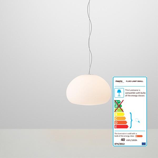 Fluid pendant lamp