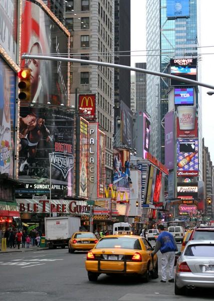 """Fine Art Print, motif """"Times Square"""""""
