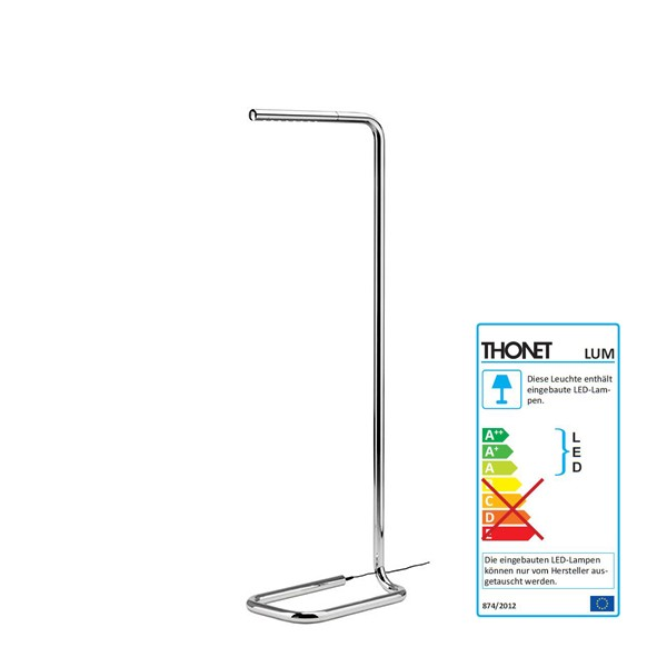 LUM 110 / 125 Thonet floor lamp