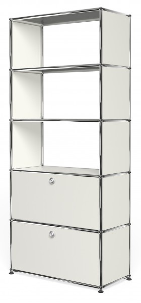 USM Haller shelf with 2 doors