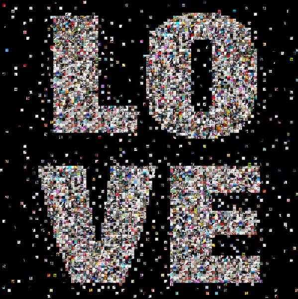 "Fine Art Print, motif ""Love"""