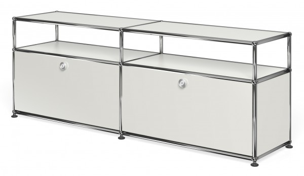 USM Haller sideboard with 2 doors, open top