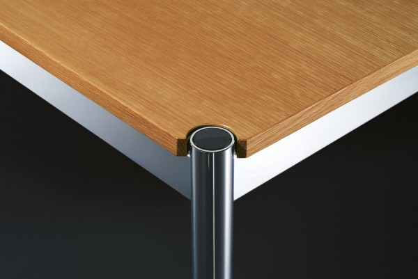 USM Haller wooden table