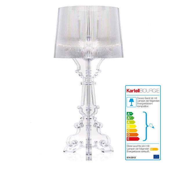 Kartell Design Lamp Bourgie