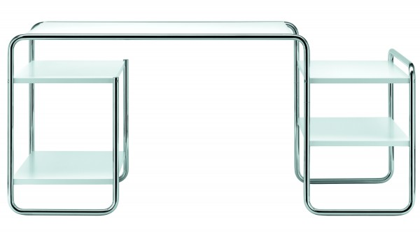 Thonet S 285 tubular steel desk