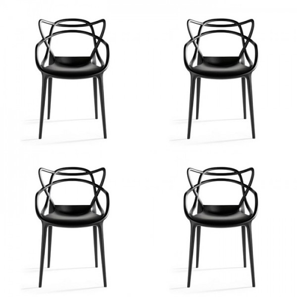 Masters Chair Set of 4 Philippe Starck