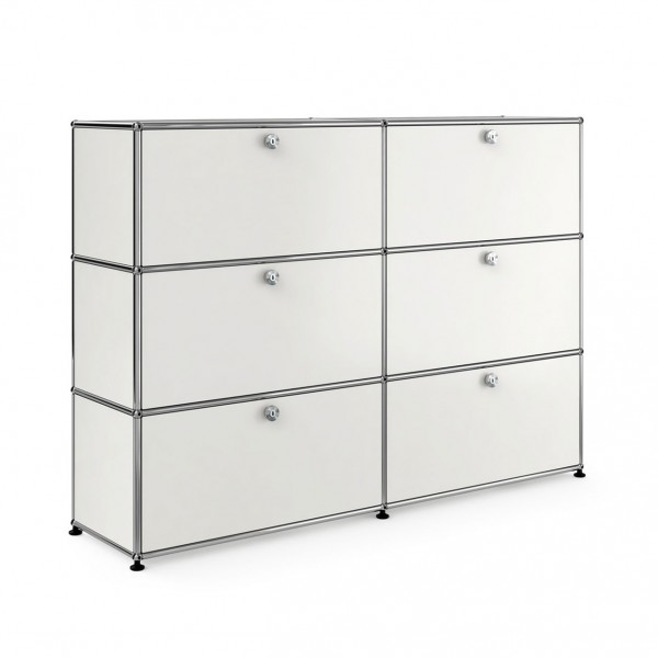 usm haller sideboard 2x3 tiers. Black Bedroom Furniture Sets. Home Design Ideas