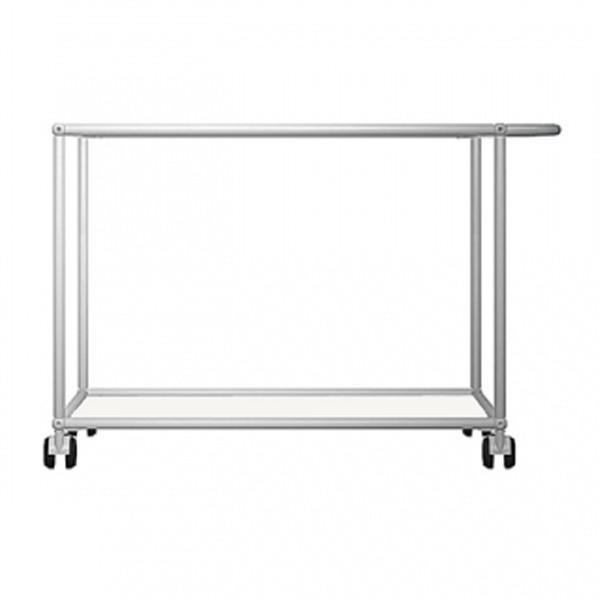 USM Serving Cart, stainless steel